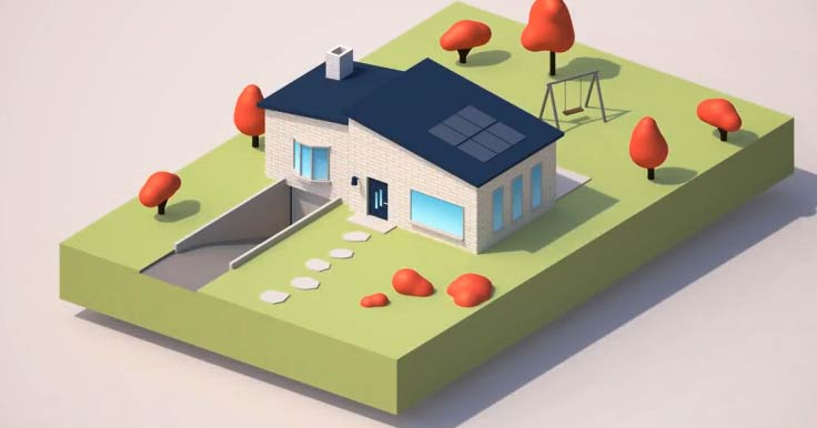 Learn How To Model And Light This Simple House In Cinema 4d